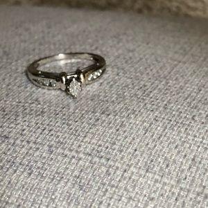 Jewelry - Platinum 1/4 Carat Diamond Ring